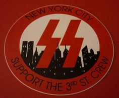 I have a feeling this one's gonna climb above and beyond my HA sticker fund, but still... awesome. Vintage Hells Angels Support Sticker New York RARE | eBay
