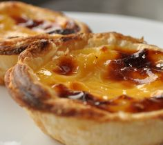 "Portuguese dessert ""pastel de nata"""