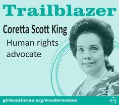 Wonder Women Coretta Scott King