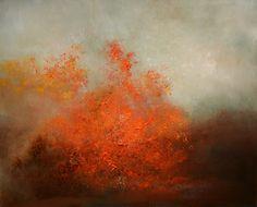"""""""Autumn Fog"""" oil on canvas  24""""x30"""""""