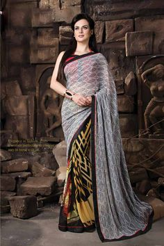 Buy Online Casual Sarees, shari, Multicolor Color, Georgette Material, casual Saree, sari, kitty party wear for women. We have large range of Printed Sarees in our website with the best pricing and unique designs shipping to (UK, USA, India, Germany, UAE, Canada, Singapore, Australia, Mauritius, New Zealand) world wide.