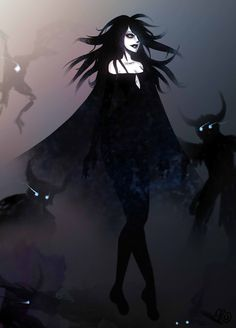 ICO - Dark Queen by fourswordsgreen Creatures from Dreams Arte Horror, Horror Art, Fantasy Creatures, Mythical Creatures, Character Inspiration, Character Art, Beautiful Dark Art, Dark Queen, Arte Obscura