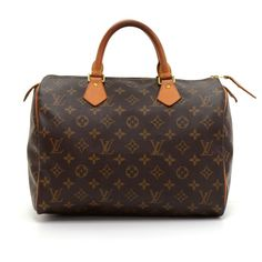 44fd360f75c8 Authentic Louis Vuitton Speedy 30 hand bag crafted in monogram canvas. It  offers light weight
