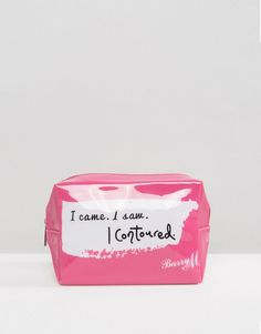 Barry M I Came. I Saw. I Contoured. Make Up Bag