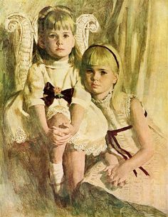 145, Joe Bowler (1928, American), I AM A CHILD-children in art history-blog