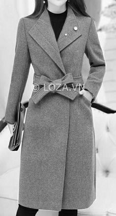 Patterns on individual sizes - - Winter Jackets Women, Coats For Women, Coats 2018, Stylish Coat, Latest African Fashion Dresses, Belted Coat, Vintage Coat, Coat Dress, Winter Wear