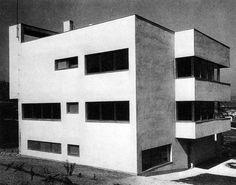 máté major - apartment building on sasfiók street, budapest, 1934