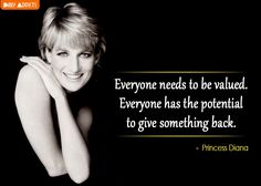 Meme Princess Diana feel valued