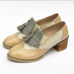 Hot trending item: Women's  Genuine ... Check it out here! http://jagmohansabharwal.myshopify.com/products/womens-genuine-leather-high-heels-oxford-shoes?utm_campaign=social_autopilot&utm_source=pin&utm_medium=pin