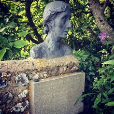 Virginia Woolf's ashes in Sussex