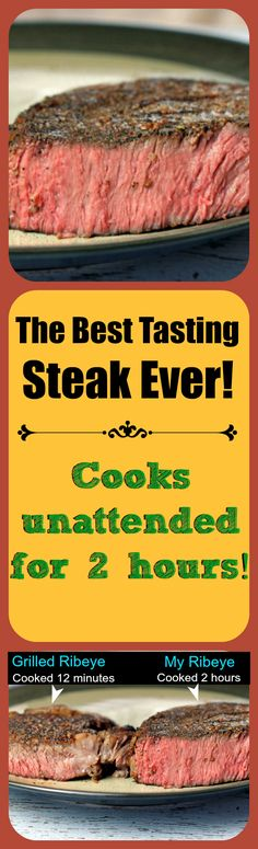 This steak cooks perfectly every time and is juicier and more flavorful than the best steakhouses in the world!