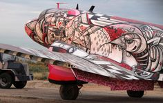 The Bone Yard Project: When Planes Become Contemporary Art Canvases in the Tucson Desert