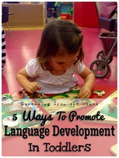 6 Ways To Promote Language Development In Toddlers | Parenting from the Heart  When my son's language development was delayed, not only was I sensitive, I wanted to do whatever was best for him and protect him from judgement. Here are some tips that have helped him (my brother when he had a delay) and have helped my kids learn their paternal language. Language development, speech, speech delay, learning through play, vocabulary, literacy, developmental psychology