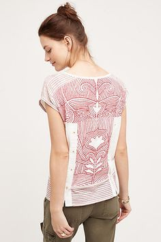 Embroidered Sienna Top - anthropologie.com