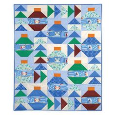 It's Christmas Everywhere Quilt (patterns and tutorial)