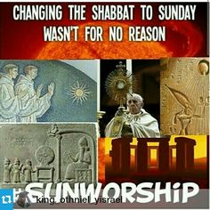Nothing new under the sun!  Qam Yasharahla!  Remember the Sabbath and keep it Holy is commanded of us by our Heavenly Father Ahayah Ashar Ahayah and Rejoice in it! because it is done on Earth as in Heaven, Ah Mon