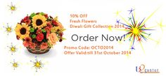 Diwali Flowers Gift Collection ! Click here for all kinds of flowers: http://is.gd/FestiveFlowers