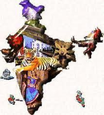 Explore the beauty of incredible India with Us. We organize tours for India and across the globe. Book Best Tour Packages/Tour Packages From India With Us. India Map, India Travel, India India, North India, Nostradamus Predictions, Mother India, Religion, India Painting, Unity In Diversity