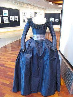 A gown worn by Kirsten Dunst as Marie-Antoinette.