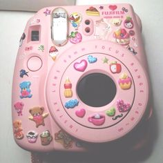 Find images and videos about pink, kawaii and camera on We Heart It - the app to get lost in what you love. Instax Mini Camera, Polaroid Camera, Fujifilm Instax Mini, Pink Camera, Catty Noir, Girly, Indie Kids, Soft Grunge, Pink Aesthetic