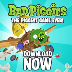 Rovio releases Bad Piggies game