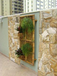 Placa de Bambu - Condomínio