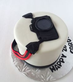 Canon Camera Cake