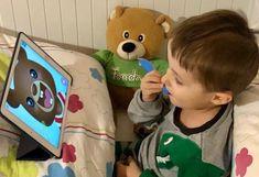 Medvídek Brushy naučí děti čistit si zoubky s radostí - eMimino.cz Face, The Face, Faces, Facial