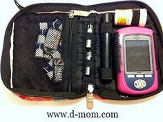 {D-Mom Tested} NEW OmniPod Bag From Sugar Medical Supply. Supply pouch made specifically for the OmniPod insulin pump...and it's not boring black!
