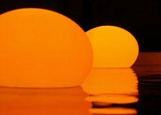 Pool Decor Ideas - Pool Floating LED Lanterns, mazelmoments.com
