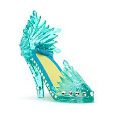Mini chaussure décorative Elsa de la Reine des Neiges