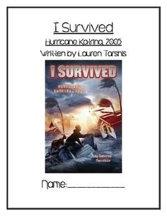 This is an 63 page novel unit study on the text I Survived Hurricane Katrina, 2005. There is one before reading activity. Each chapter has comprehension questions, including at least two short response questions (with evidence statements sentence starters at the bottom of the page), comic strip drawings, vocabulary analysis, visualizing, or summarizing. There are 6 extended response questions for the text. I included a variety of character study questions and tables to utilize either during…