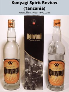 If you're ever in Tanzania, look for a local spirit called Konyagi. It's a clear liquor that can be used as a base for a multitude of cocktails. Tonic Water, Gin And Tonic, Clean Drink, Bottom Of The Bottle, Hooch, Africa Travel, Distillery, Tanzania, Vodka Bottle