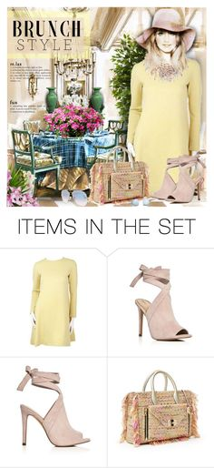 """Brunch Goals"" by petri5 ❤ liked on Polyvore featuring art and vintage"