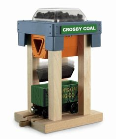 Thomas Wooden Railway - Crosby Coal Loader Hopper and Car - Loose Brand New… Wooden Toy Train, Wooden Toys, Minecraft Decorations, Choo Choo Train, Thing 1, Thomas The Tank, Thomas And Friends, Toy Boxes, Cool Toys