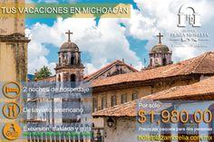 Te invitamos a disfrutar tus próximas vacaciones en #Michoacán, te va a encantar!