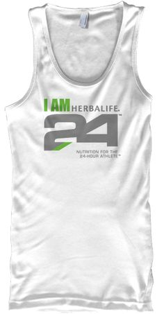 "American Apparel ""I AM H24"" Tanks  Check out these other great Herbalife tee and tank campaigns!