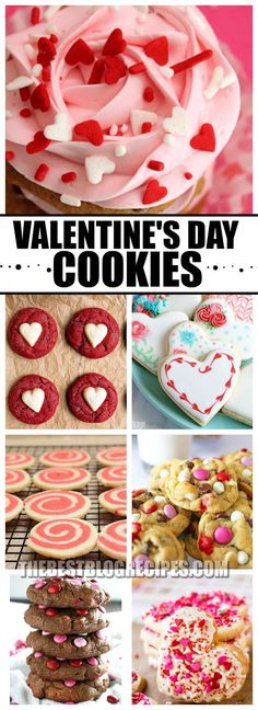 Valentine's Day is just around the corner, so you need The Best Valentine's Day Cookie Recipes to make for the holiday! These recipes are sweet to the taste and make the perfect addition to any Valentine's Day Occasion! Their tasty flavors will absolutely have you falling in love! via @bestblogrecipes