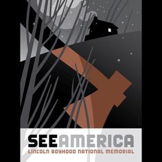 Lincoln Boyhood National Memorial by Luis Prado  #SeeAmerica Looks like a horror novel cover :P