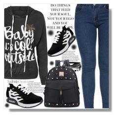 """Baby it's cold outside"" by clumsy-dreamer ❤ liked on Polyvore"