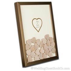 The Drop In Hearts Wedding Guest Book Alternative is the perfect way to save all the well wishes and heartfelt tidbits from your special day Wood Guest Book, Rustic Wedding Guest Book, Guest Book Sign, Guest Books, Wedding Favors, Wedding Gifts, Wedding Invitations, Wedding Decor, Wedding Stuff