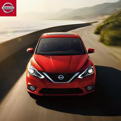 Always the Sentra of attention! Introducing the all-new 2016 Nissan Sentra. She's quite a looker!