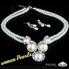 Pearl jewelry for Women