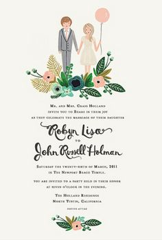 I've just fallen in love with rifle paper co. If I can get them in time, this is where I'll be getting my wedding invites.