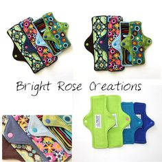 Mama Cloth Pad PDF Pattern Sewing Pattern by BrightRoseCreations, $8.00