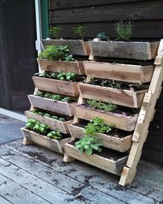 Image result for wood pallet with legs planter