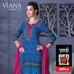 #RedDotSale, salwars that will make you stand out!