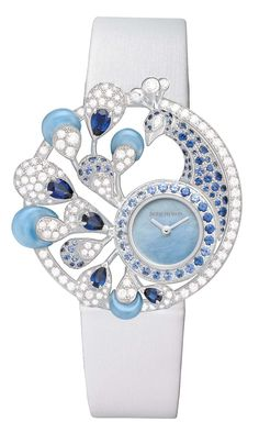 Boucheron Ajourée Héra jewellery watch, shortlisted for the Jewellery Watch award