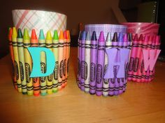 Crayon Cups DIY for Teacher Gift