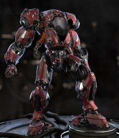 Exoskeleton by dastr117 | Sci-Fi | 3D | CGSociety